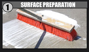 Pure Metallic Application Step 1 - Surface Preparation