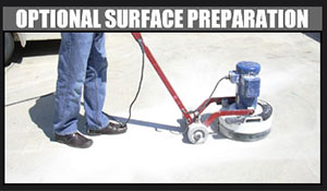 Pure Metallic Application Step 6 - Optional Surface Preparation