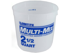2 1/2 Qt Mixing Container