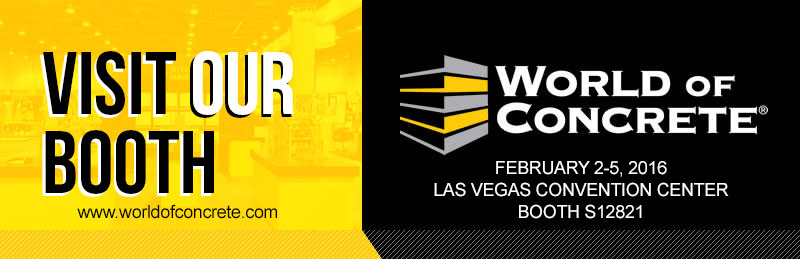 Stop by the Pure Metallic booth at the 2016 World of Concrete